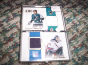 Authentic Game worn Jersey Quads - VERY RARE