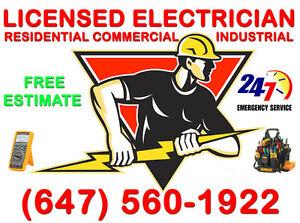 Licensed & Insured Electrician >>>>>>>>>>>>>>>>>>Free Estimate Oakville / Halton Region Toronto (GTA) image 1