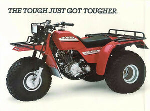 3 roues Big red 250 Honda 1985