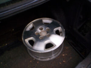 Honda 15 inch, alloy, 5 bolt hole rims, 5 x 114.3, 4 rims