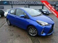 2017 Toyota Yaris 1.5 VVT-I ICON TECH 5d 73 BHP Hatchback Automatic