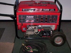 generatrice king canada 7500 watts NEUVE