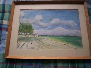 KEN JOHNS Watercolour (reduced price)