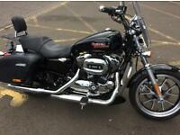 Harley-Davidson XL 1200 T SUPERLOW SPORTS, 150 used bikes in stock
