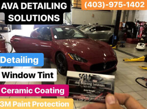 WINDOW TINTING-3M PAINT PROTECTION FILM-DETAILING-CAR WRAPPING