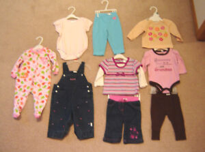 Girls Clothes, Dresses - 6, 6-12, 12, 12-18 mos / Shoes 3 to 6