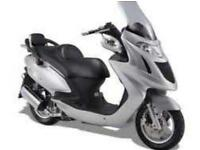 Kymco Miler 125 SCOOTER, 150 USED BIKES IN STOCK, WE BUY BIKES UPTO 10 YEARS OLD