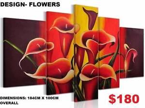 Split Canvas Prints ! 20 Designs ! Extra Large Modern Framed Arts Baldivis Rockingham Area Preview
