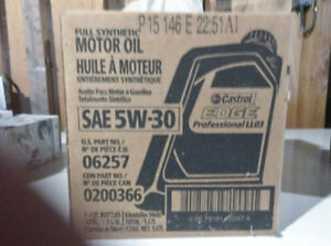 Brand New Castrol Edge 5W30 Synthetic Oil generated for VW