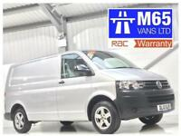 VW VOLKSWAGEN TRANSPORTER T5 AUTO 2.0TDI 140PS SWB DSG AUTOMATIC LOW MILEAGE A/C