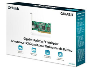 D-Link Gigabit Desktop PCI Adapter DGE-530T
