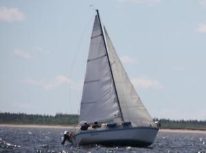 24 foot Sail Boat