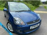 2008 Ford Fiesta 1.2 ZETEC BLUE 5d 75 BHP ** ONE PREVIOUS OWNER, AND YES ONLY 1