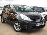 NISSAN NOTE 1.6 ACENTA 5D AUTOMATIC JUST SERVICED + MOT 2019 + VERY LOW MILES