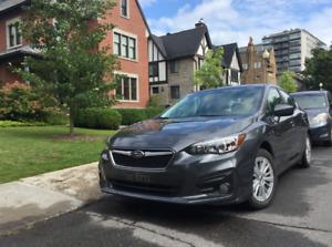 Transfert de bail Subaru Impreza 2018