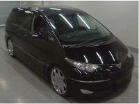 FRESH IMPORT 06 NEW SHAPE TOYOTA ESTIMA PREVIA ALPHARD VELLFIRE V6 AUTO IN BLACK