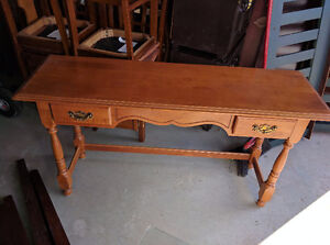 Nadeau Solid Wood CANADIAN Made Sideboard/Sofa/Stand