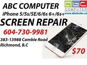 Apple iPhone iPad Screen battery button services - 604-730-9981