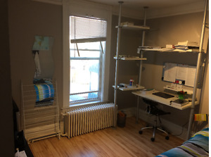 bright fully furnished room for May 1, 2 blocks from Dal $700