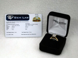 10KT Gold Diamond Engagement Ring Size 7.5  (Ref# 7-3)