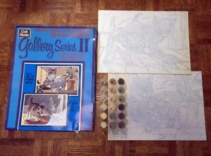 1970's Paint By Number Set