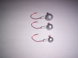 BULK round jig head offer 5/8oz,3/4oz,1oz sizes Windsor Region Ontario image 6