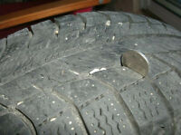 For Sale Set Of 4 Michelin X-Ice (XI2) Snow Tires On Rims.