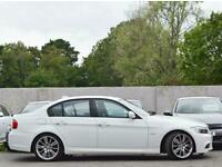 BMW 318d M SPORT PLUS 2.0 DIESEL AUTO 5DR SALOON 2011 [61] WHITE