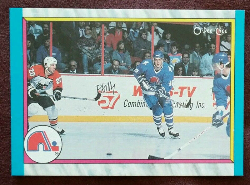 Joe Sakic Opc Rookie Card 1989 90 Opc Hockey Cards