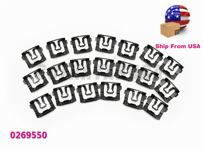 20PX Thunderbird Windshield & Rear Window Trim Molding Clips For Ford F100 F150