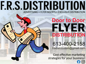 Flyer distribution
