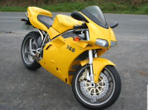 2002 Ducati SS 748 Limited edition