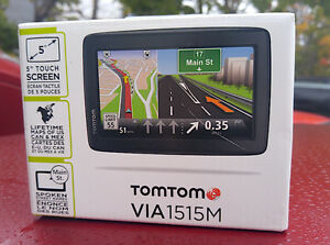 "TomTom VIA 1515 GPS; 5"" Display"