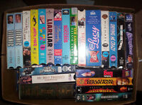 $1 each for 12 vhs tapes for $10  all for $40