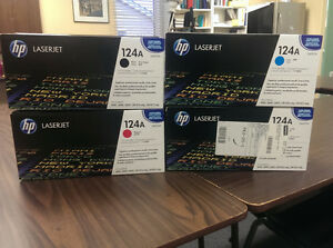 HP 124A Ink Cartridges
