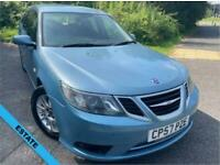 2008 Saab 9-3 2.0 LINEAR SE T 5d 150 BHP ** ESTATE.....ONE OWNER FROM NEW....109