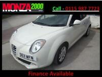 ALFA ROMEO MITO 1.4 16V SPRINT SPORTS HATCH IN WHITE WARRANTY FINANCE AVAILABLE