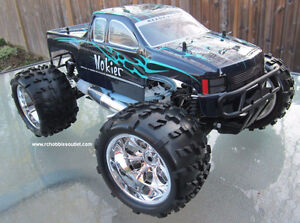 New RC Truck Nitro Gas 1/8 Scale 4WD 2 Speed Transmission