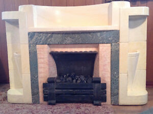 Mid 1930's Deco Fireplace
