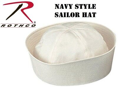 Rothco Navy Sailor Hat Cap GI Military WW2 WWII Gob Dixie Cup Style 5521](Sailor Hat)