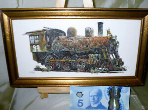 TRAIN Lovers wall decor 3 pieces