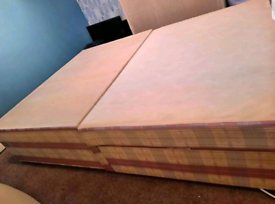 Lovely Double Divan Bed & free Mattress Good Condition Can Delive