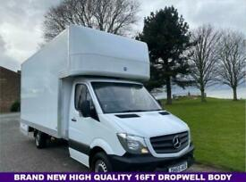 2015 Mercedes-Benz Sprinter 2.1 313 Cdi 130Bhp 3.5t.New 16ft Dropwell Luton Luto