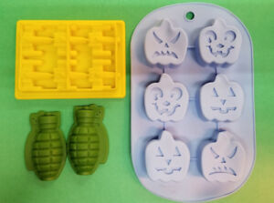 Silicone Gummy Molds!