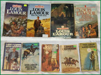 Louis L'Amour Western Pocket Novels ---Lot of 9 Books