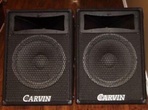 """CARVIN -  15"""" 2-way Passive Monitors (400W/8 ohm)"""