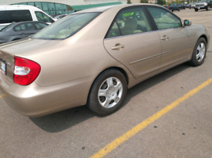 2002 Toyota Camry Low Kms....great starter car!!!