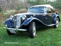 Classic 1951 MGTD for sale