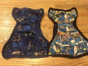 Cloth diaper covers (batman, Star Wars and more)