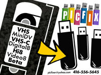 Transfer Videotape,VHS,MiniDV,Video,Hi8,8mm to DVD/Digital/USB